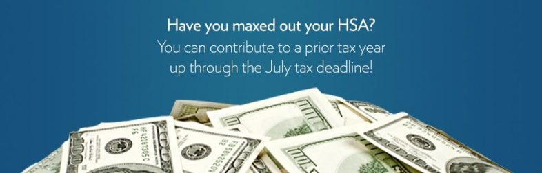 contribute to your hsa through the july tax deadline